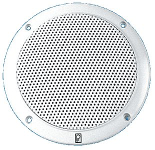 Poly-Planar 5-Inch Round Flush-Mount Marine Speakers (Pair)