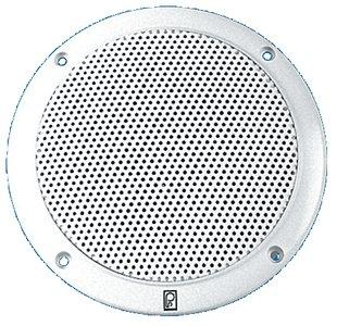 Poly-Planar 5-Inch Round Flush-Mount Marine Speakers (Pair)