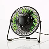 Message Fan with Floating LED Display