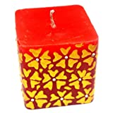 Red Floral Rhapsody Candle