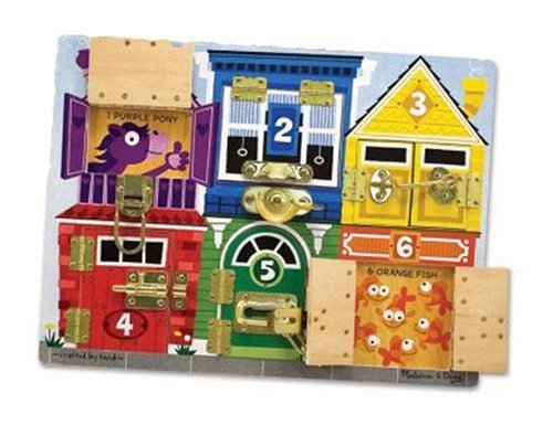 Melissa & Doug Latches Board Picture