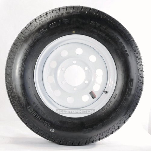 Cheap New eCustomRim Trailer Tire + Rim ST225/75D15 H78-15 225/75-15 15