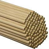 """Wooden Dowel Rods 7/16"""" x 36"""" - Bag of 10"""