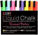 LIQUID CHALK MARKERS - Premium Chalk Ink Paint Pens 8pck 6mm Chisel Tip