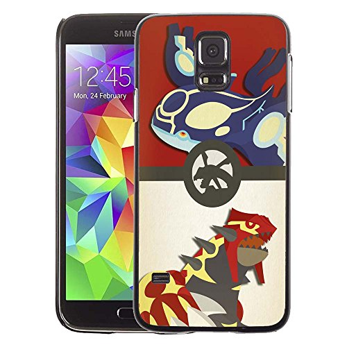 Samsung Galaxy S5 Case, Pokemon More Like Omega Ruby And Alpha Sapphire Drop Protection Never Fade Anti Slip Scratchproof Black Hard Plastic Case (3ds Pokemon Omega Red compare prices)