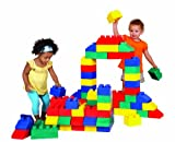 Edushape Edublocks Lightweight Flexible Building Blocks Construction Toy - 50 pcs