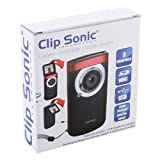 Clip Sonic X90PC Digital Camera 2 Inches (5.1 cm) 3 Megapixels 4x Zoom Black