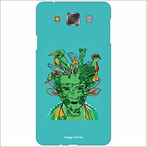Design Worlds - Samsung Galaxy E5 Designer Back Cover Case - Multicolor Pho...