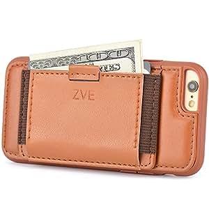 Amazon.com: iPhone 6S Leather Case, [Wallet Case] ZVE