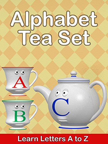 Alphabet Tea Set - Learn Letters A to Z