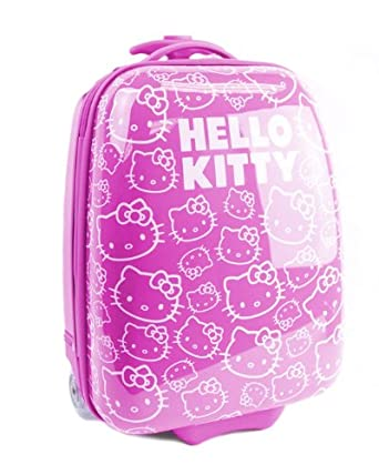 Accessories Boutique The Hello Kitty Signature ABS Luggage in Pink