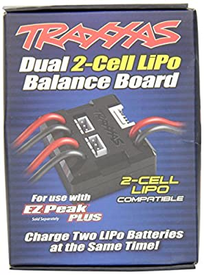 Traxxas 2917 Dual Charging Adapter for 2S LiPO Batteries