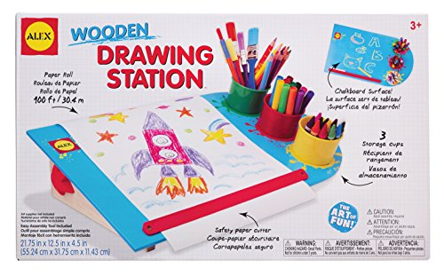ALEX Toys Artist Studio Wooden Drawing Station (Alex Tabletop compare prices)