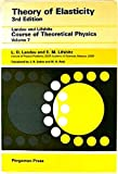 Theory of Elasticity (0080339166) by Landau, L.D.