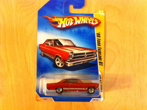2009 Hot Wheels 031/190 '66 Ford Fairlane GT Red 1:64 - 1