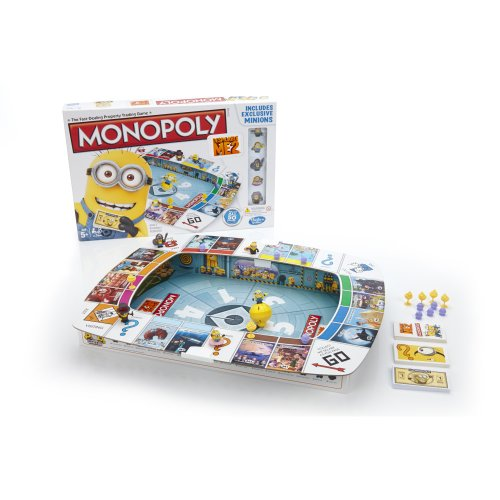 Monopoly Despicable Me 2 Game front-495423