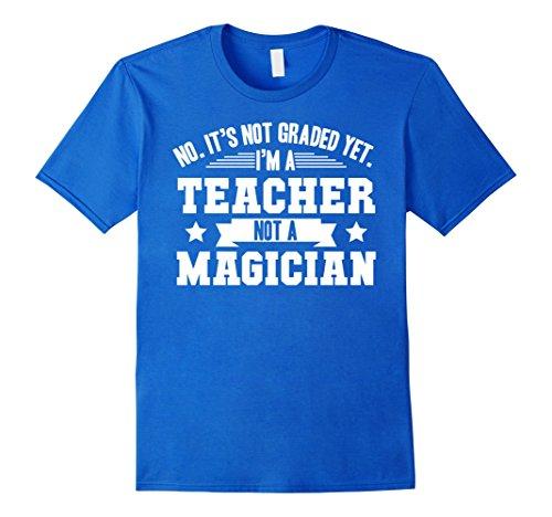 mens-no-its-not-graded-yet-im-a-teacher-not-a-magician-t-shirt-2xl-royal-blue