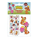 Moshi Monsters Mini Pencils & Erasers Party Bag Fillers
