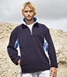 Result Tech 3 Zip Neck Sport Fleece Navy/Sky L