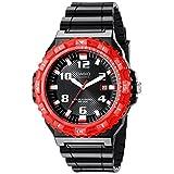Reloj Casio Men's MRW-S300H-4BVCF reloj solar con pulsera plástica negra