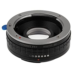 Fotodiox Pro Lens Mount Adapter, Sony Alpha A-Mount (Konica Minolta Maxxum AF) Lens to Canon EOS Camera, for Canon ESO 1D, 1DS, Mark II, III, IV, 1DC, 1DX, 30D, 40D, 50D, 60D, 70D, 5D, 7D, Rebel T3, T3i, T4i, T5i, SL1, and C300, C500 from Fotodiox Inc.