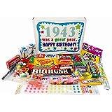 1943 73rd Birthday Gift Basket Box Retro Nostalgic Candy
