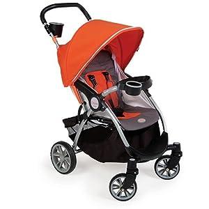Contours Lite Stroller, Tangerine