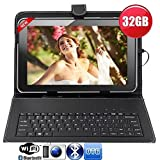 #10: IKALL N1(2+16GB) Dual Sim 4G Volte Calling Tablet 8 Inch display with Keyboard Cover,Golden