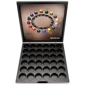 Nespresso 10 capsules x assorties avec tui en bois gratuit coffret cadeau - Support dosette nespresso ...