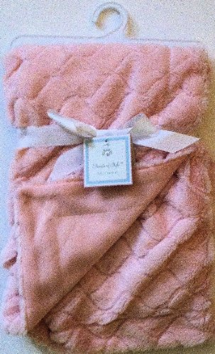 Elements of Style - Pink Baby Blanket