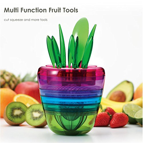 Fruit Plant Multi Tool Home Kitchen Gadget  Vegetable And Fruit Slicer  Masher  Grater  Squeezer  Chopper  Cutter  Handy  Best Kitchen Friendly All In available at Amazon for Rs.45950