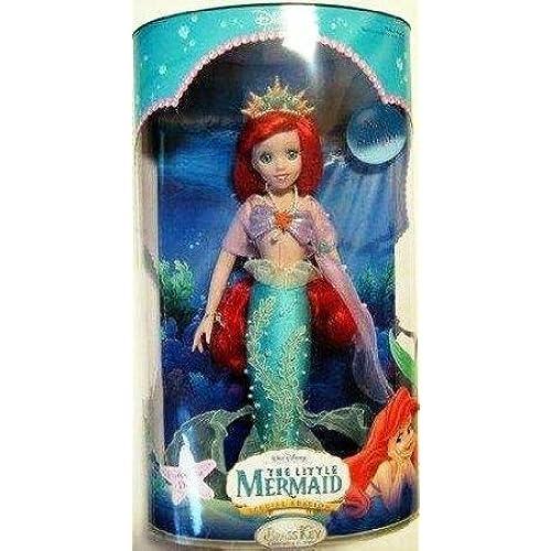 Disney (디즈니)Princess the Little Mermaid (리틀 머메이드) Porcelain Doll Special Edition 돌 인형 피규어(병행수입)-