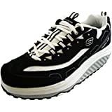 Womens Skechers Shape Up Strength Black Trainers SIZE 3-2.5
