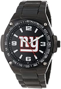 Game Time Unisex NFL-WAR-NYG Warrior New York Giants Analog 3-Hand Watch by Game Time