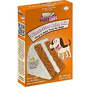 Puppy Cake Peanut Butter Flavored Cake Mix