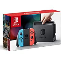 Nintendo Switch 32GB Hybrid Gaming Console (Neon Blue and Neon Red Joy-Con)