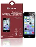 SAMAR� - Supreme Quality New Iphone 5/5S/5C Crystal Clear Screen Protectors (Released 2013) 6 in Pack - Includes Microfiber Cleaning Cloth