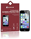 SAMAR® - Supreme superior New Iphone 5 / 5S / 5C ravenscroft crystal straightforward show Protectors (Released 2013) 6 in Pack - features Microfiber cleaning Cloth