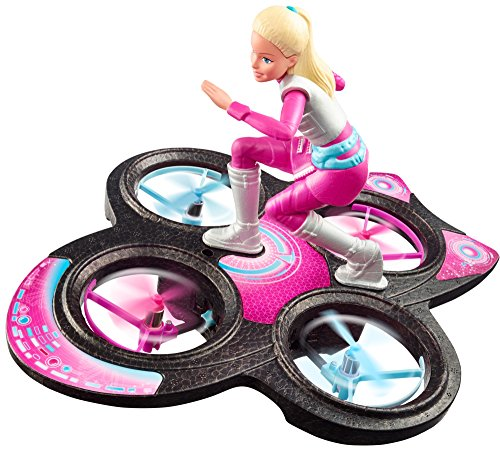 Barbie Star Light Adventure Flying RC Hoverboard Doll JungleDealsBlog.com