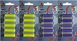 20 Deosticks 2 varieties: Lemon Lavender Scent Deodorant Stick, Air Freshener Sticks for the vacuum cleaner, Duftpatronen Deodorant, Raumerfischer