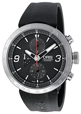 Oris Men's 01 674 7659 4163 07 4 25 06 TT1 Chrono Grey Dial Watch by Oris