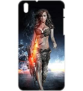a AND b Designer Printed Mobile Back Cover / Back Case For HTC Desire 816 (HTC_816_3D_1290)