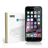 Anker® Premium Tempered Glass Screen Protector for iPhone 6 (4.7 inch) with 9H Hardness and 96% Transparency  [Lifetime Warranty]