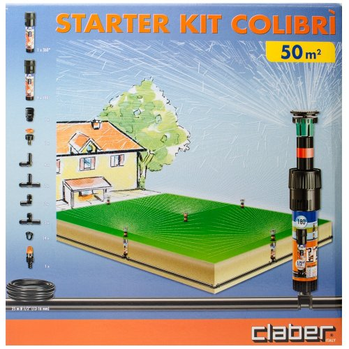 Kit starter x irrigazione interrata mod colibr claber for Kit irrigazione automatica