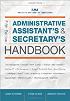 Administrative Assistant's and Secretary's Handbook, 5th Edition Front Cover