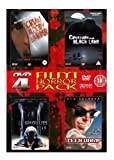 4-DVD Film Horror Pack (Scream Bloody Murder, Creature From Black Lake, Ghoulies IV, Teen Vamp)