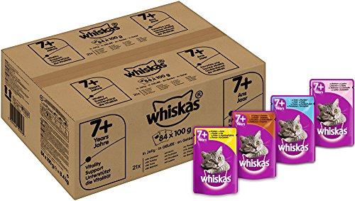 whiskas-7-senior-katzenfutter-fisch-und-geflugelauswahl-in-gelee-84-beutel-1-x-84-x-100-g
