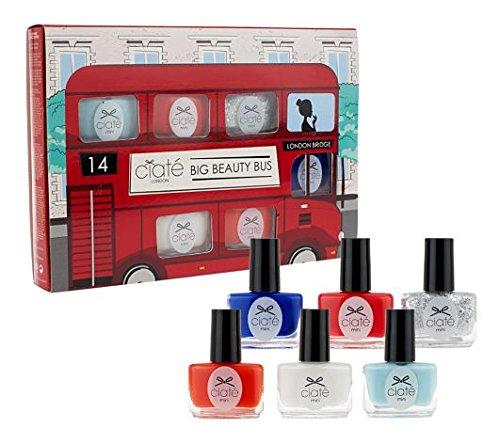 Ciate London- Big Beauty Bus Mini Nail Polish Lacquer Kit 6pc Set (Ciate Mini compare prices)