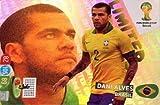 FIFA World Cup 2014 Brazil Adrenalyn XL Dani Alves Limited Edition