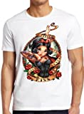 Disney Princess Snow White Tattoo T-Shirt Unisex Men Women